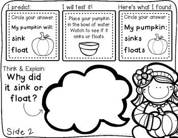 Pumpkin Day! {11 hands-on pumpkin themed ELA, math, & science activities}