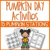 Pumpkin Day Activities