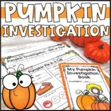 Pumpkin Day Investigation Booklet