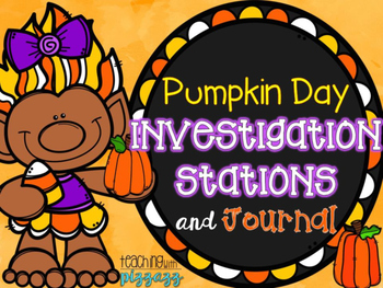 Pumpkin Day Investigation Stations and Journal