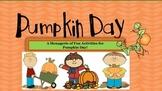 Pumpkin Day Activities! Pumpkin Pie Recipe, Estimation, Measurement,