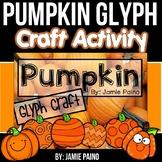 Pumpkin Decorating Glyph Craftivity