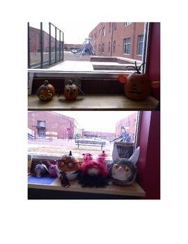 Pumpkin Decorating--dress pumpkin as Book Character