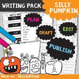 Pumpkin Descriptive Writing Packet