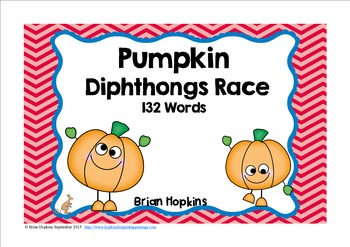 Pumpkin Diphthong Race