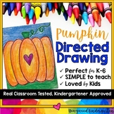 Pumpkin Directed Drawing ... Fun for Fall ... October ... Halloween ... Pumpkins
