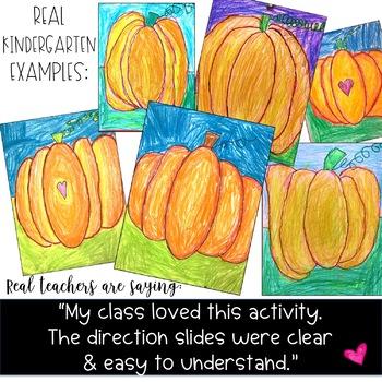 Pumpkin Directed Drawing ... Fun for Fall ... October ... Halloween ... Pumpkins