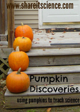 Pumpkin Discovery STEM- Science and Math Lessons