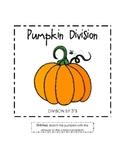 FREEBIE! Pumpkin Division File Folder Game (Divide by 3's)