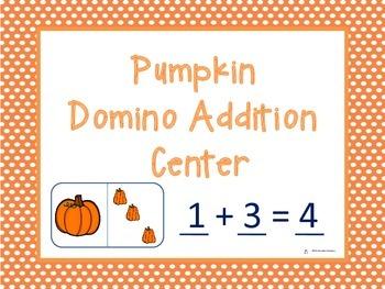 Pumpkin Domino Addition