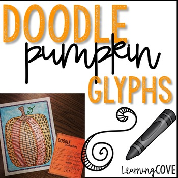Pumpkin Doodle Glyphs! Perfect for fall and Halloween