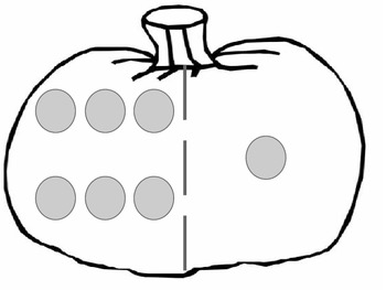 Pumpkin Dot Cards