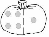 Pumpkin Dot Cards