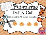 Pumpkin Preschool:  Dot & Cut