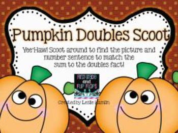 Pumpkin Doubles Scoot Freebie
