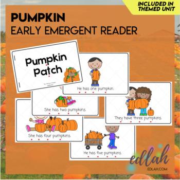 Pumpkin Early Emergent Reader