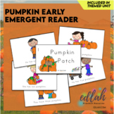Pumpkin Early Emergent Reader