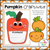 Pumpkin Easy Writing Craft