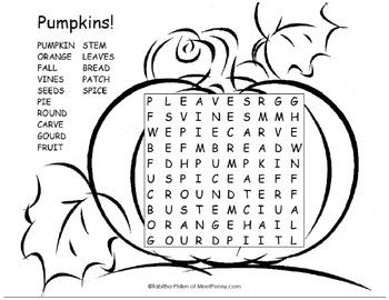 Pumpkin Elementary Pack