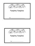 Pumpkin Emergent Reader- Mini Book