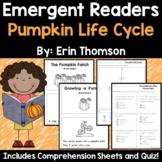 Pumpkin Emergent Readers
