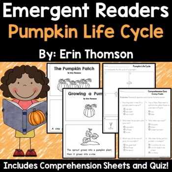 Pumpkin Emergent Readers