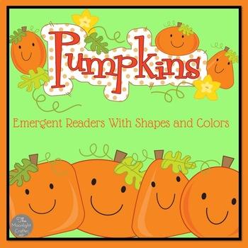 Pumpkin Emergent Readers Set of Two