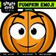Pumpkin Emoji Clip Art