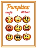 Pumpkin Emojis Art, Stickers, Clip Art, Classroom, Fall, H