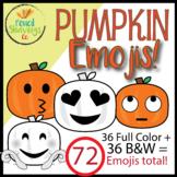 Pumpkin Emojis | 72 Custom Emojis!