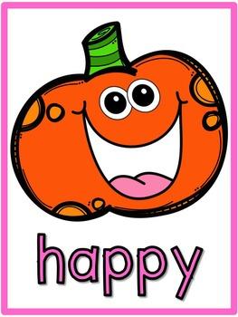 Pumpkin Emotion Posters