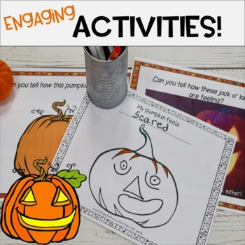 Pumpkin Emotions! Teaching Story and Activities.