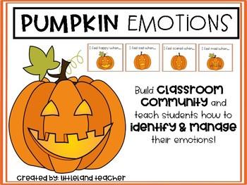Pumpkin Emotions Activity!