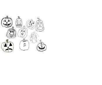 Pumpkin Emotions Worksheet