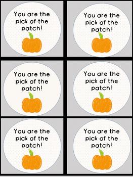 Pumpkin Encouragement