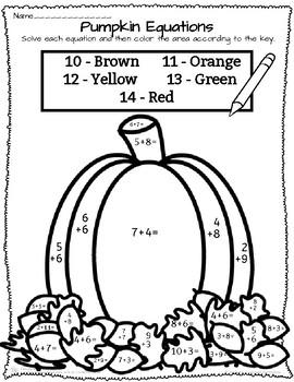 Pumpkin Equations