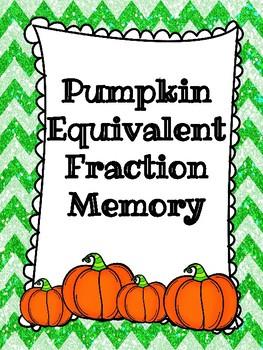 Pumpkin Equivalent Fraction Memory