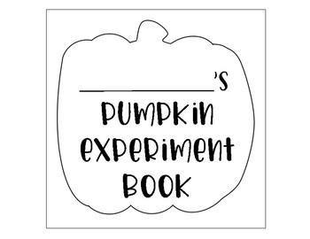 Pumpkin Experiment Book