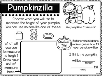 Pumpkin Experiments for Primary Grades