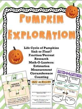 Pumpkin Exploration Activities