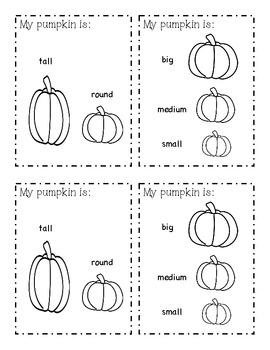Pumpkin Exploration Book