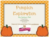 Pumpkin Exploration-Observation, Measurement, Estimation,