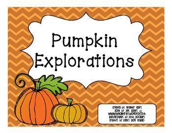 Pumpkin Explorations: Investigating Pumpkins Inside and Out