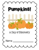 Pumpkin Exploration Booklet