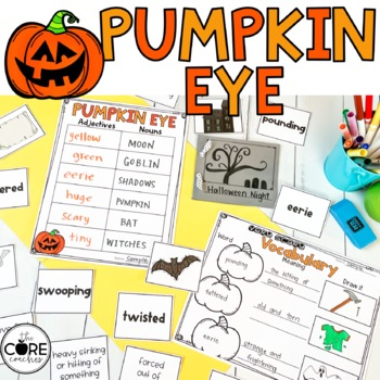 Pumpkin Eye: Interactive Read-Aloud Lesson Plans and Activities