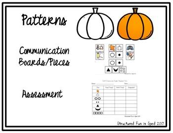 Pumpkin Face Craft & Communicate Series
