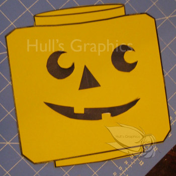 Pumpkin Face Craft Template PDF