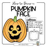 Halloween Activity: Jack O Lantern Drawing Art Project