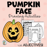 Halloween Activity: Jack O Lantern Drawing - Pumpkin Art Project