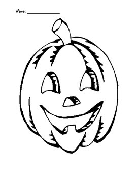 Pumpkin Face for Pumpkin Glyph